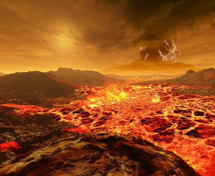 Фото №1 - Звезда в иллюминаторе: как выглядит Солнце с каждой из планет Солнечной системы