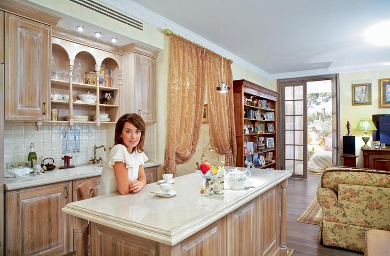дома и квартиры российских звезд фото цвет для