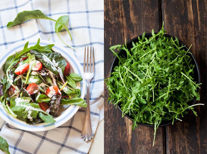 Фото №1 - 5 изумительно простых и вкусных салатов с рукколой