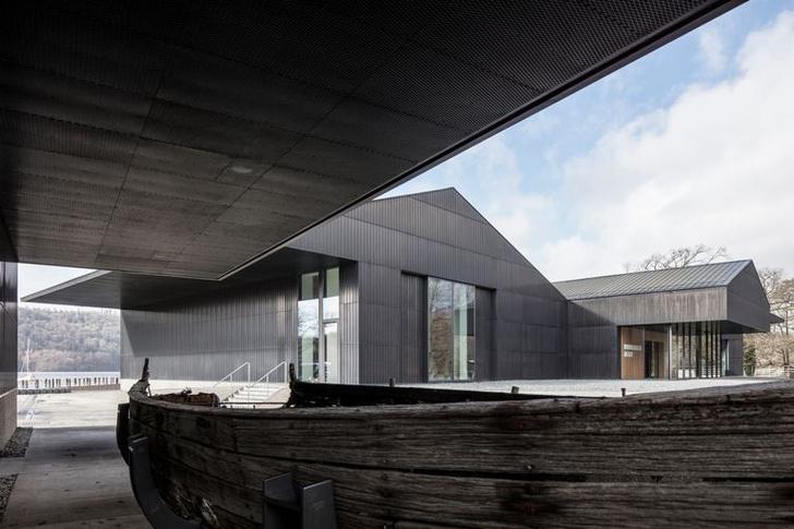 Фото №5 - Новый музей лодок в Англии по проекту Carmody Groarke