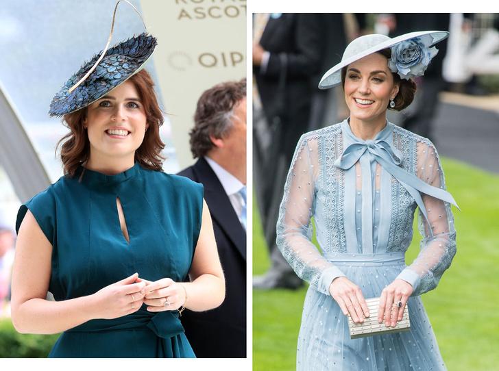 Фото №1 - Ювелирная загадка: почему помолвочные кольца Кейт и Евгении так сильно похожи