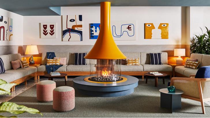 Фото №1 - Яркий бутик-отель в Ньюпорте