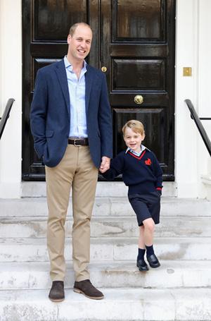 Фото №13 - Воспитание королей: что можно и что нельзя Джорджу, Шарлотте и Луи Кембриджским