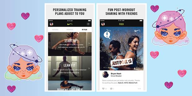 Nike Training Club приложение