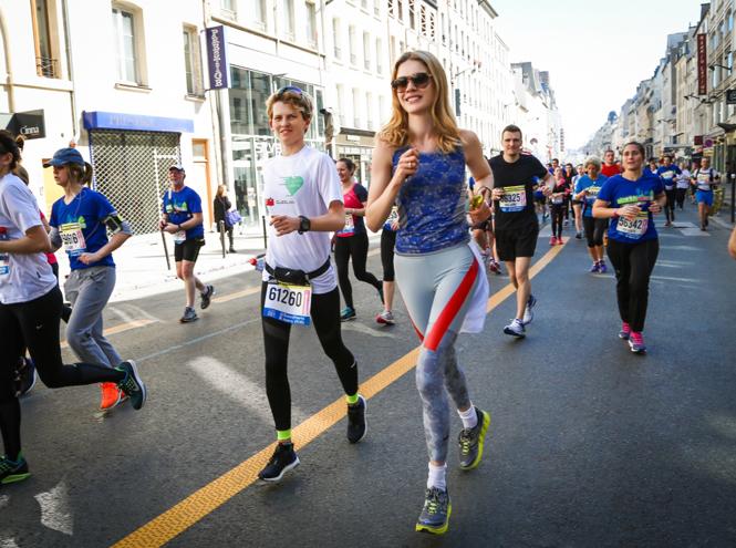 Фото №2 - Бегущие сердца: благотворительный забег Натальи Водяновой