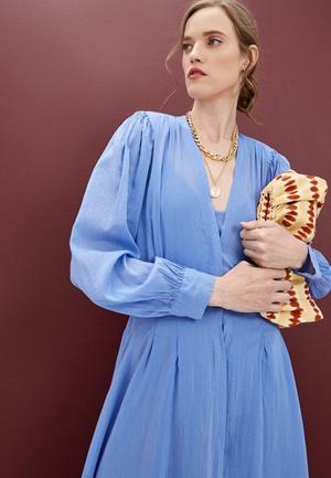 Фото №3 - Что носить: длинные летние платья 2021