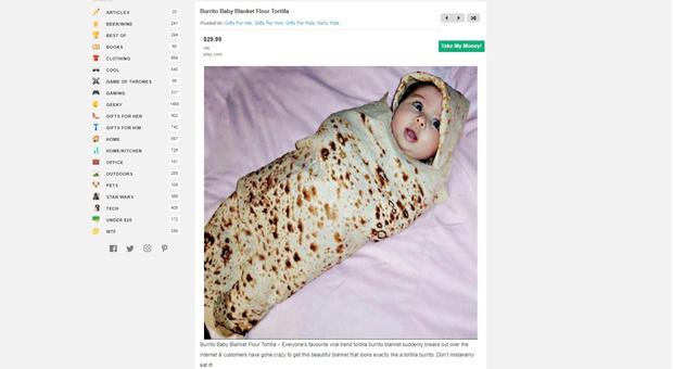 Фото №2 - Сайт дня: Залипательный каталог самых бесполезных на свете вещиц