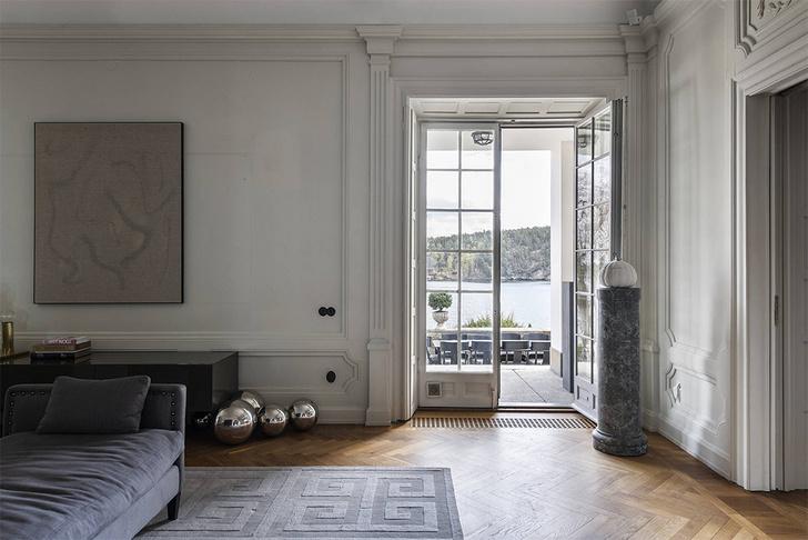 Фото №7 - Мечта о Скандинавии: белый дом в Швеции