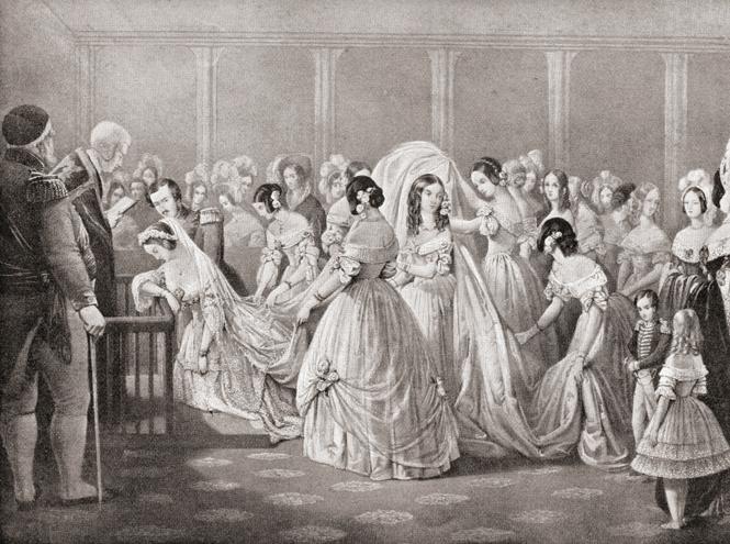Фото №5 - Мода на белое: история традиционного наряда невесты