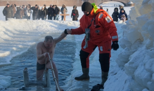 Фото №1 - Петербургский врач рассказала, как правильно окунаться в крещенскую иордань