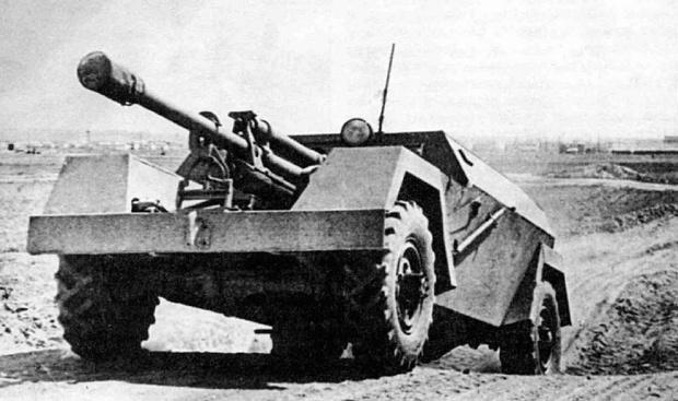 Фото №1 - Катафалк с пушкой: история необычной советской самоходки КСП-76