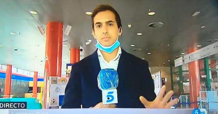 Фото №1 - Журналист в прямом эфире проверил на себе, как выявить COVID-19 тепловизором и загремел в больницу