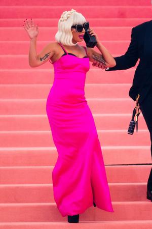 Фото №4 - Леди Гага разделась на красной дорожке Met Gala