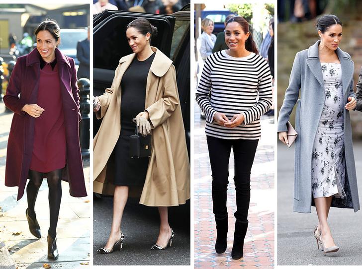 Фото №1 - Стильная беременность Меган Маркл: главные модные предпочтения герцогини
