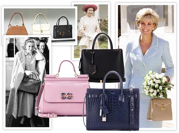 Фото №1 - Держи за ручку: любимые сумки принцесс и королев снова в тренде