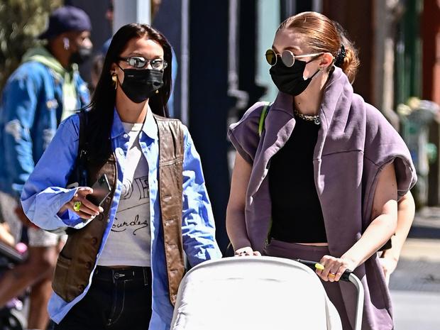 Фото №45 - Джиджи и Белла Хадид: сестры-соперницы