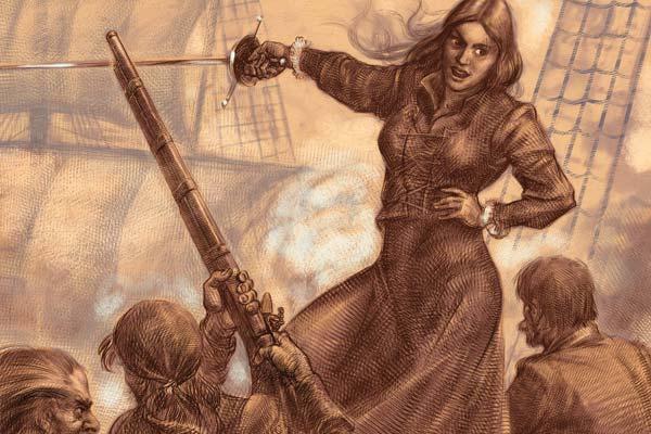 Фото №1 - Грануаль — королева пиратов