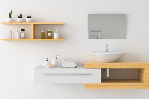 Фото №2 - 10 идей, как оптимально обставить крошечную ванную