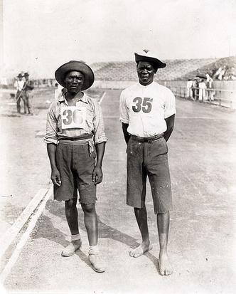 Фото №4 - Олимпийский марафон 1904 года: комедия абсурда и сюжет для Тарантино