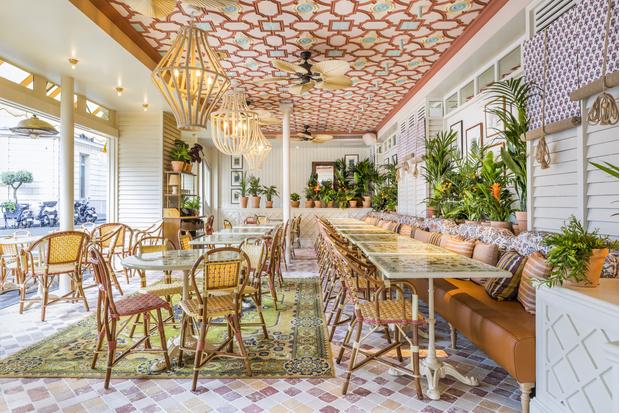 Фото №1 - Ресторан по проекту Лауры Гонсалес в Париже