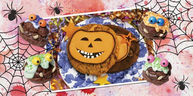 Печенье Липкое чудовище рецепты хэллоуин простые