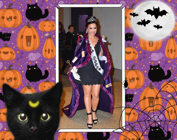 Фото №9 - Лучшие костюмы звезд с прошедшего Хэллоуина
