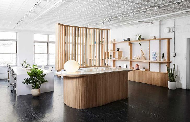 Фото №1 - Офис и шоурум нью-йоркской галереи Uprise Art