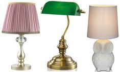 10 настольных ламп, которые станут украшением любого дома