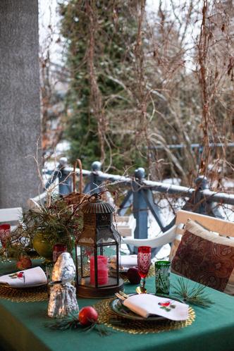 Фото №38 - Стильный новогодний стол: 10 секретов декоратора Анны Муравиной