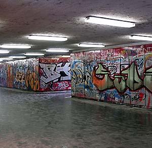 Фото №1 - В Брюсселе нарисовано граффити рекордного размера