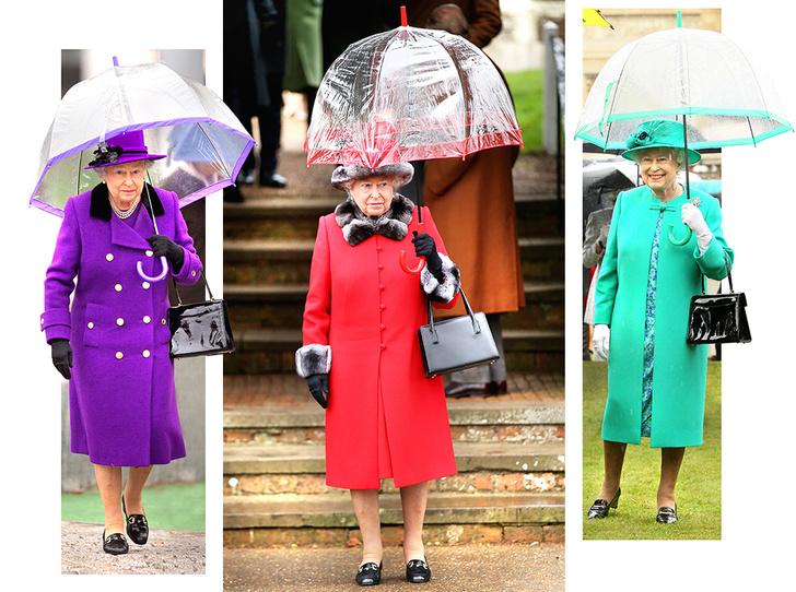 Фото №2 - Виндзорские зонтики: королевский способ спрятаться от дождя