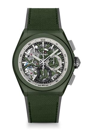 Фото №2 - Городские джунгли: Zenith представил новые часы в оттенке хаки