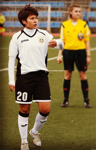 Залия Газимова, футболистка, фото