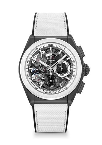 Фото №4 - Часы на все времена: Zenith представил новые модели в черно-белом дуэте