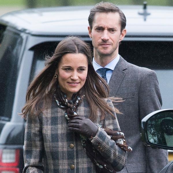 Фото №1 - Паж и подружка: принцесса Шарлотта и принц Джордж на свадьбе Пиппы Миддлтон