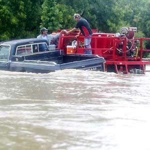 Фото №1 - Техас ушел под воду