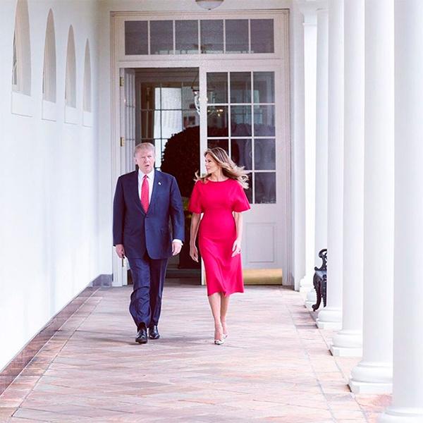 Фото №27 - Мелания Трамп: новые стандарты стиля Первой леди