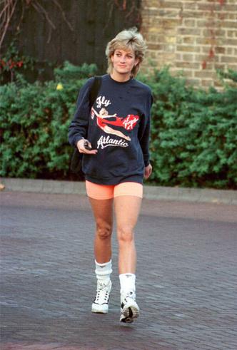 Фото №2 - Спортивная принцесса: как Диана одевалась на тренировки
