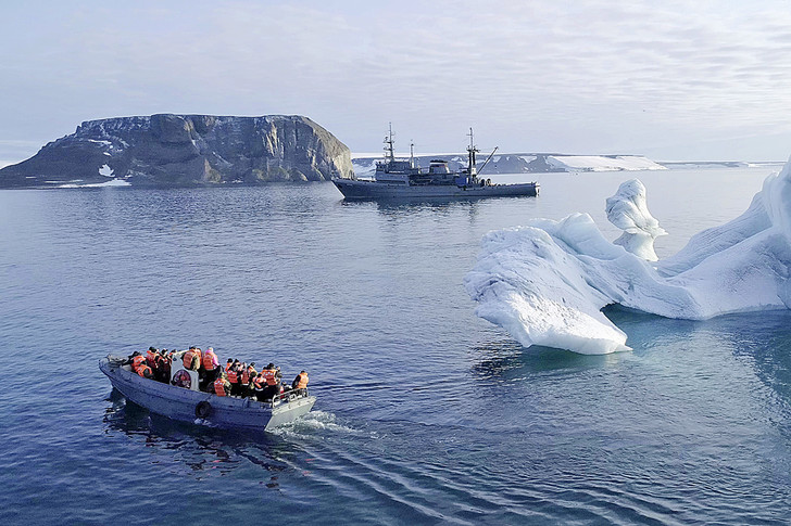 Фото №8 - Замороженное время: путешественник Леонид Круглов среди вечных льдов