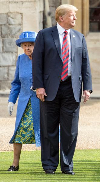 Фото №2 - Какие рекомендации королевские эксперты дали Дональду Трампу