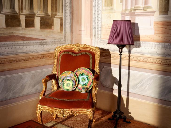 Фото №1 - Новая коллекция фарфора от Versace