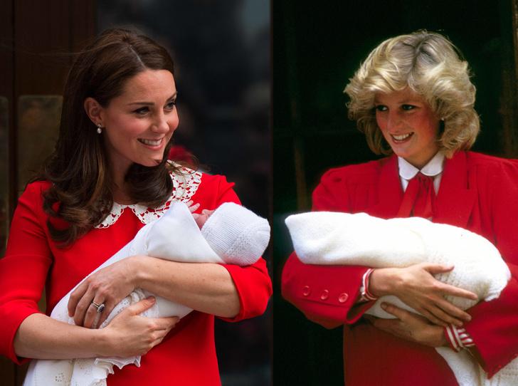 Фото №1 - Материнские инстинкты: в чем Кейт Миддлтон копирует принцессу Диану