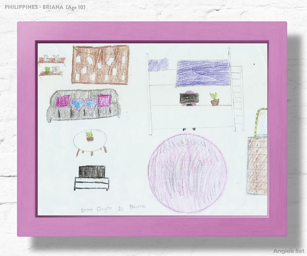 Фото №13 - Комната-мечта: 7 детских, созданных по рисункам малышей