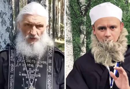 Пародия на скандальное обращение схиегумена Сергия к президенту Путину (видео)
