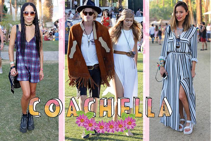 Гости фестиваля Coachella: Зои Кравиц, Коди Симпсон и Джиджи Хадид, Джеми Чон