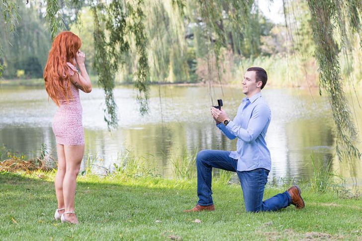 Фото №13 - Парень больше 30 раз делал предложение своей девушке, а она даже не догадывалась (фото прилагаются)