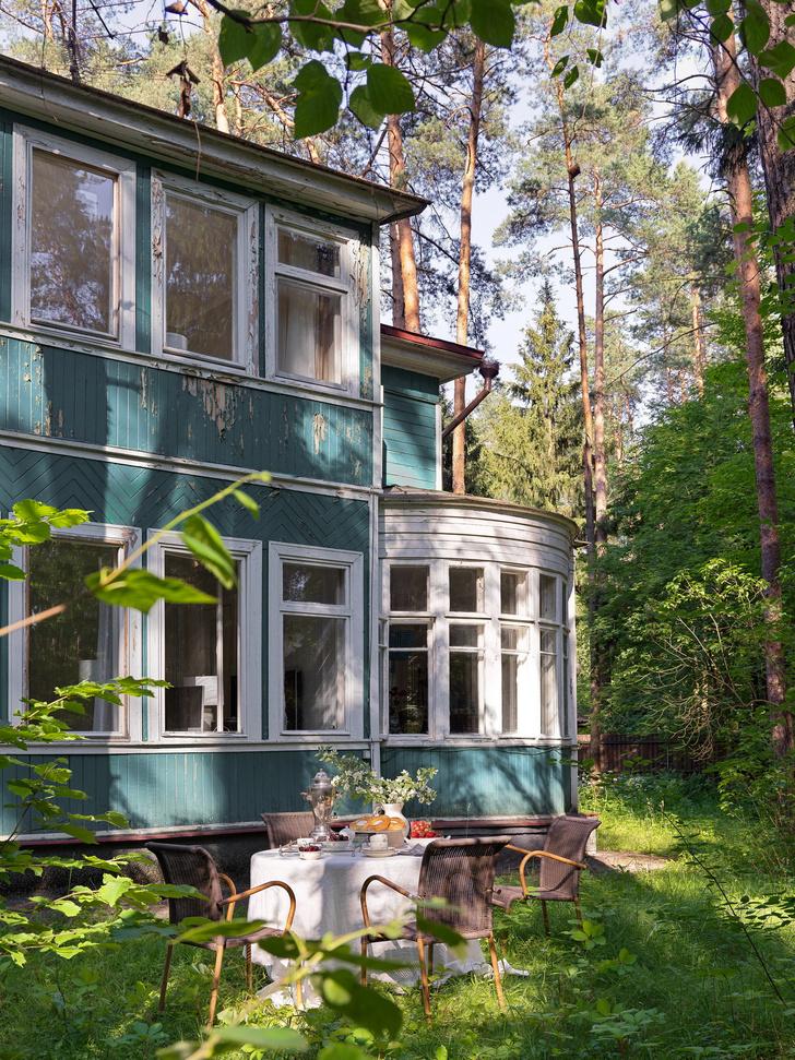Фото №2 - Дом дизайнера Анны Зиньковской в Подмосковье