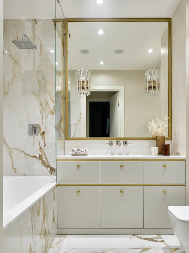 Фото №16 - Элегантный монохромный интерьер квартиры 85 м²