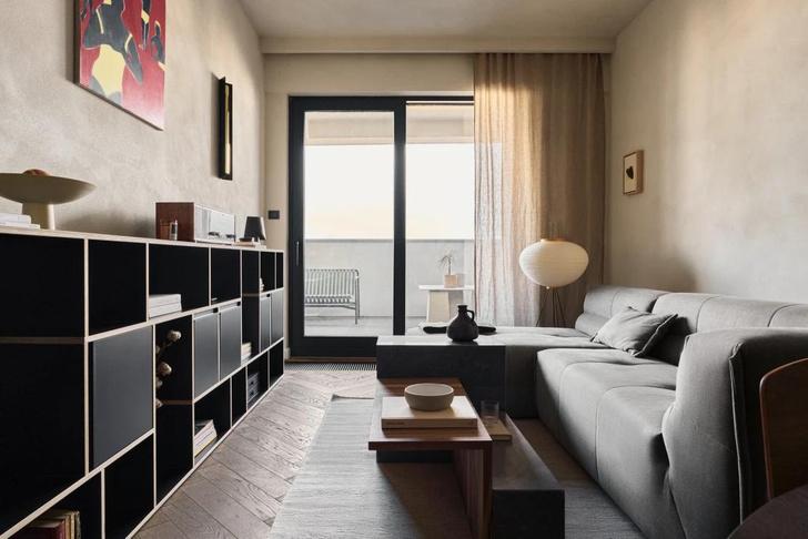 Фото №4 - Квартира в Варшаве с приглушенными цветовыми акцентами