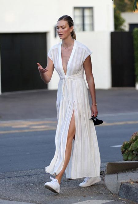 Карли Клосс в Лос-Анджелесе